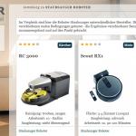 Roboter-Testportal | Aggregation von Testberichten zu Haushaltsrobotern