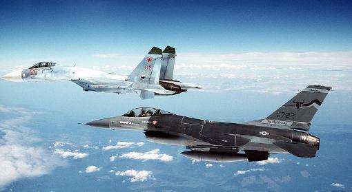 Luftwaffe  - Mig-29 und F16